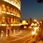 """Coloseum at Night"" by dylwalters"