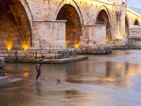 Skopje's Stone Bridge