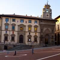 Dusk Over Piazza Grande Art Prints & Posters by Rae Tucker