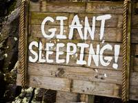 Giant Sleeping