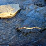 """Creek Rock Abstract"" by KsWorldArt"