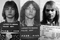 Axl Rose Mug Shots Through The Years Horizontal Ph