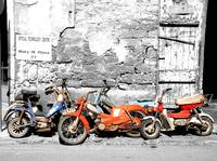 old antique bikes