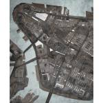 """NYC Lower Manhattan 16x20 w sig and loc"" by carlandcartography"