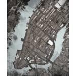"""NYC- Manhattan 16x20 w sig and loc"" by carlandcartography"