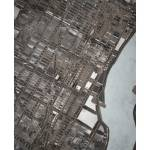 """NYC Midtown 16x20 w sig and loc"" by carlandcartography"