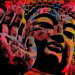 """Gautama Buddha-4"" by thegriffinpassant"