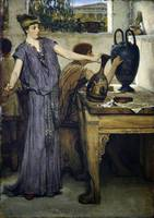 Sir Lawrence Alma-Tadema - Etruscan Vase Painters