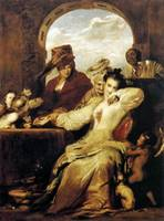 Sir David Wilkie - Josephine and the Fortune Telle