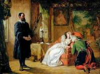 William Powell Frith - John Knox Reproving Mary, Q