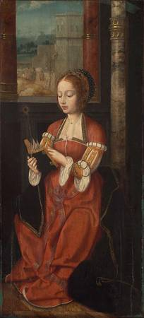 Saint Barbara Unidentified artist, Netherlandish,
