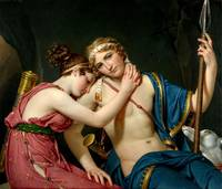 David Jacques-Louis (1748 - 1825) - Farewell of Te