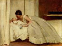 Letter from Daddy 1873 by Philip Hermogenes Calder
