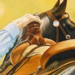 """Saddled."" by WhitneysOriginals"