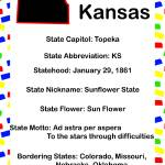 """Kansas Information Educational"" by ValeriesGallery"
