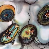 Ebb & Flow II Art Prints & Posters by Linda Knoll