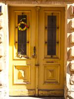 Yellow Door of Tabor