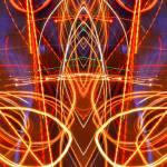 """ABSTRACT LIGHT STREAKS #92"" by nawfalnur"