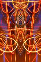 ABSTRACT LIGHT STREAKS #92
