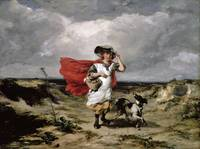 Paul Falconer Poole - Crossing the Heath, Windy Da