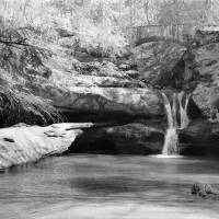 Upper Falls - Hocking Hills Art Prints & Posters by William Wetmore