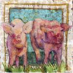"""pig painting 