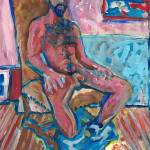 """Male Nude in Chair"" by BeaconArtWorksCorporation"