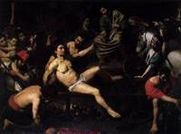 Valentin_de_Boulogne_-_The Martyrdom Of St. Lawren