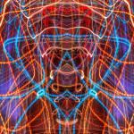 """ABSTRACT LIGHT STREAKS #94"" by nawfalnur"