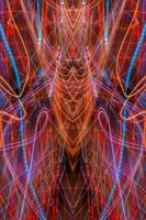 ABSTRACT LIGHT STREAKS #95 - DEATH