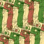 """golfer tessellation"" by nscallfittura"