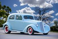1935 Hupmobile Two Door Sedan I