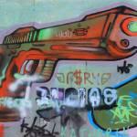 """Graffiti Covered Wall"" by rhamm"