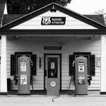 """Route 66 - Illinois Vintage Pumps"" by Ffooter"