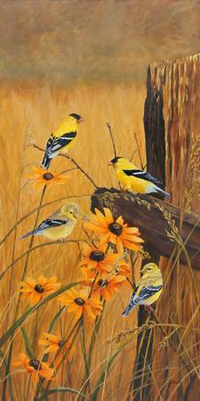 Golden Treasures - Goldfinch