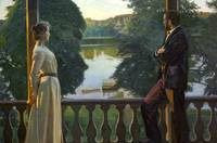 Richard Bergh, Nordic Summer Evening, 1899-1900, o
