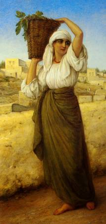 William Gale - A Nazareth Fig Seller