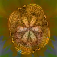 Sunflower Fractalled