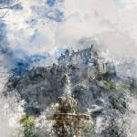 """Edinburgh Castle Edinburgh Scotland"" by AnnG"