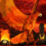 """Myth Series 3 Phoenix Fire"" by SharsImagination"