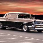 """1957 Chevrolet Pro Street Bel Air_2"" by FatKatPhotography"