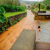 thermal pool in the Azores