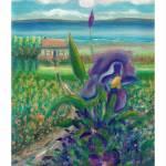 """Iris Cottage Row"" by karenjlee"