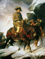 Paul Delaroche - Napolean Crossing the Alps 1850