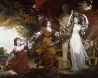 Sir Joshua Reynolds Three Ladies Adorning a Term o