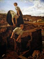 Thomas Wade - Turf Cutters 1869