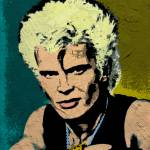 """BILLY IDOL"" by thegriffinpassant"