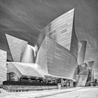 Disney Concert Hall (Black and White)