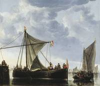 The Passage Boat by Aelbert Cuyp