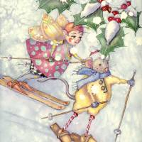 holly jolly Art Prints & Posters by Laurel Nelson